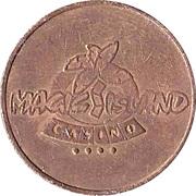 Jeton de jeu - Magic Island Casino – avers