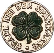 Token - Sprakasse 1 Pfennig – avers