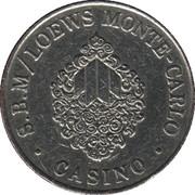 2 francs Casino de Monte Carlo – avers