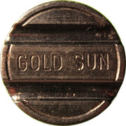 Token - GOLD SUN - LIGNANO – avers