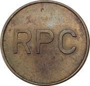 Jeton de lavage automobile - RPC – revers