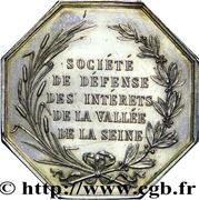Société de défense des intérets de la vallée de la Seine – revers