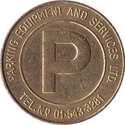 Jeton de stationnement - Parking Equipment & Services Ltd. -  avers