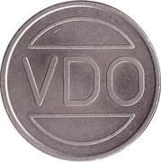 Jeton de stationnement - VDO Waardemunt Parkeersysteem – revers