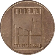 Jeton de stationnement - Mattighofen – revers