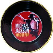 Michael Jackson King of Pop round – avers