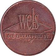 Jeton de stationnement - Wels (Die Einkaufsstadt) – avers