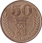 Token - 50 Jahre Adolf Werner – avers