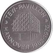 Token - Tew-Pavillon Hannover 1962-1976 – avers