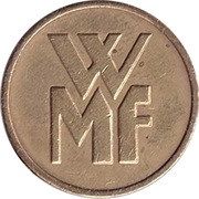 Jeton WMF (grande lettres, 17,50mm) -  avers