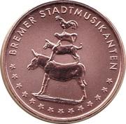 Token - Bundesländersatz Bremen (Bremer Stadtmusikanten) – avers