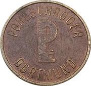 Safe deposit token - Pohlschröder Dortmund – revers