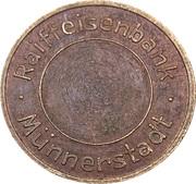 Safe deposit token - Pohlschröder Dortmund – avers