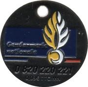 Jeton de Chariot - Gendarmerie Nationale – avers