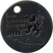 Jeton de Chariot - Gendarmerie Nationale – revers