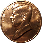 Investiture de John F. Kennedy – avers