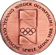 Steffi Graf Pro Olympia – revers