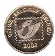 Belgian Post - 50j. Belgian TV – revers