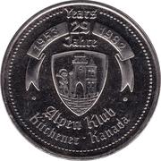 Oktoberfest Dollar (Kitchener-Waterloo, Ontario) – avers