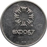 Jeton de change - Expo 67 (Monnaie des États-Unis) – avers