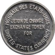 Jeton de change - Expo 67 (Monnaie des États-Unis) – revers