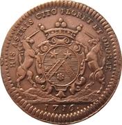 États de Bourgogne - Maire de Dijon Étienne Baudinet (1er type) – avers