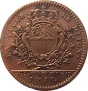 États de Bourgogne - Maire de Dijon Étienne Baudinet (1er type) – revers