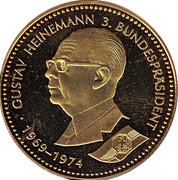 Token - Deutschland (Gustav Heinemann) – avers