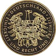 Token - Deutschland (Gustav Heinemann) – revers