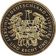 Token - Deutschland (Richard von Weizsäcker) – revers
