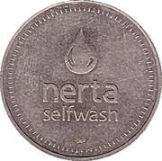 Jeton de lavage automobile - Nerta (30 mm; Elektrostal) – avers