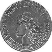 Medal- Guanaco – revers