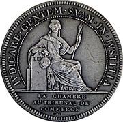 Jeton Tribunal de commerce de Nantes – revers