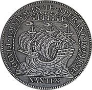 Jeton Tribunal de commerce de Nantes – avers