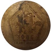 RH Hovendon & Sons London 1½ Pence – avers