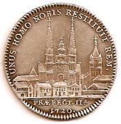 jeton maire d'Angers 1720 – revers