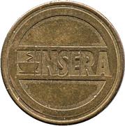 Automatic tokens - INSERA – avers