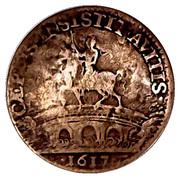 """jeton Louis XIII """"chambre des comptes de Bretagne"""" – revers"""