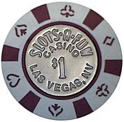 Jeton casino Las Vegas – revers