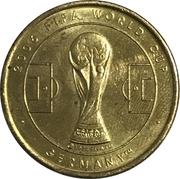 Soccer World Cup 2006 Medals -  Ecuador – revers
