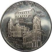 Regina City Hall token – avers