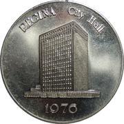 Regina City Hall token – revers