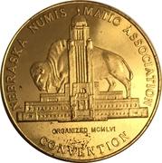 Token-Nebraska Numismatic Association (9th Convention) – avers