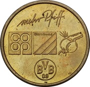 Token - Borussia Dortmund BVB 09 (Stefan Klos) – revers