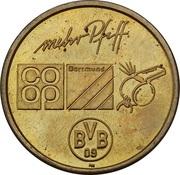 Token - Borussia Dortmund BVB 09 (Stephane Chapuisat) – revers