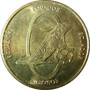 Soccer World Cup 2006 Medals -  Ecuador – avers