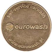 Jeton de lavage automobile - Techno-ekol Eurowash (Dmitrov) – revers