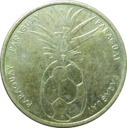 Soccer World Cup 2006 Medals - Paraguay – avers
