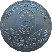 Olympic Trust of Canada - Cycling – revers