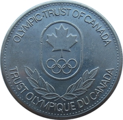 Olympic Trust of Canada - Wrestling – revers